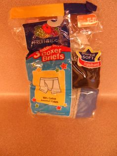 BOYS BOXERS,2-3 TODDLER, FRUIT OF THE LOOM,2 PAIRS, NEW IN PACKAGE.