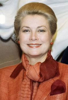 Grace Kelly in 1982, the year she died