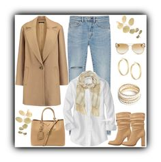 """""""Untitled #548"""" by gallant81 ❤ liked on Polyvore featuring Charlotte Russe, Theory, Yves Saint Laurent, Prada, ZooShoo, Panacea, Michael Kors and Vince Camuto"""