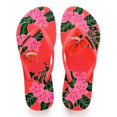 6c3ef199d Chinelo Feminino Slim Floral Havaianas Chinelos Havaianas, Chinelos  Femininos, Sapatos, Flip Flops Florais