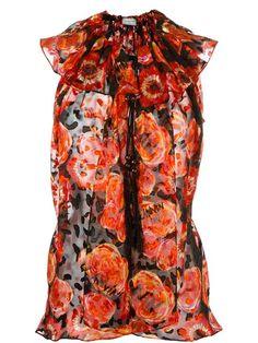 LANVIN Floral Print Shirt. #lanvin #cloth #shirt
