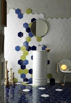 Интерьерная шестигранная керамическая плитка Tonalite Exabright - 3 Апреля 2015 - VIP КЕРАМИКА - магазин-салон керамической плитки в СПб