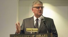 "Franklin Graham Implores Evangelicals to Support Israel: ""I support Israel not only because I worship a Jew but because of what the Bible says about Israel and the future of Israel."" Graham pointed to God's promise to give Israel the land of Canaan; God's choosing of Israel to be a people for Himself; God's instruction to pray for the peace of Jerusalem; & especially God sending His Son, Jesus-a Jew- to bring the hope of eternal life to those who turn from their sin & put their faith in Jesu..."