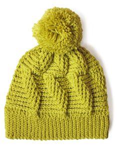 Yarnspirations.com - Patons Do the Twist Hat - Free Pattern - crochet- intermediate   Yarnspirations