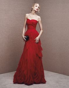 It's My Party! 2016 Collection | Sexy Red Evening Gown - Hong Kong | LMR Weddings