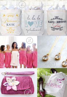 Unique Bridesmaid Gifts | ...Romance In A Glance...
