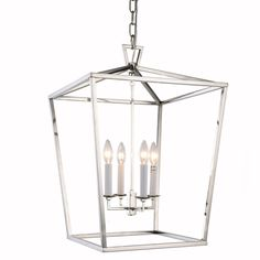 The Denmark Collection Features Luxurious Finishes In Polished Nickel Golden Iron Or Vintage Bronze Shown Lantern Pendant LightingPendant