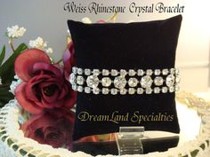 Weiss Stunningly Vintage Jewelry Elegant Crystal by DLSpecialties