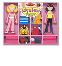 Abby & Emma Magnetic Dress-Up $23.85