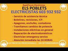 Electricistas ELS POBLETS 603 932 932 Baratos