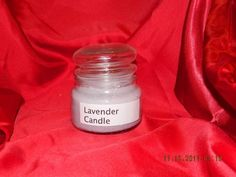 Lavender Scented Container Candle.    Extravagant lavender is the shining star of this stunning blend. The herbaceous heart is warmed with a touch of camphor and complemented with soft floral notes. Sweet and woody notes enhance this sophisticated flower. A nice sweet lavender