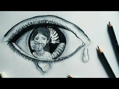 This powerful drawing speaks more than anything||Deep meaningful drawing about society