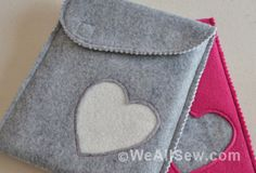 DIY Tablet Sleeve by Mimi G for WeAllSew