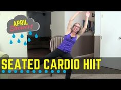 High Intensity Seated Cardio + Bodyweight Strength | Full Length Home Workout for Beginners