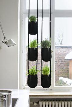 Pot de fleurs Urban Garden Bag / Medium - A suspendre - 2,5 litres Plant Bag M - 2,5 litres / Noir - Authentics