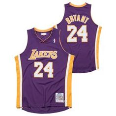 636666d46 Los Angeles Lakers Kobe Bryant Authentic Road Jersey By Mitchell   Ness -  Mens