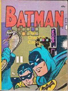 Batman and Robin in The Cheetah Caper