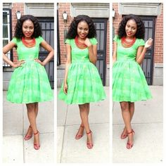 Love this style ?  visit this link for more styles like this >>  http://toomanystyles.com/10-amazing-ankara-styles-for-ladies/