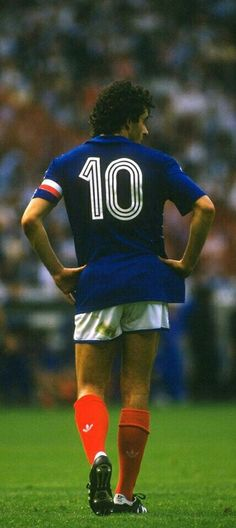 Michel Platini, Football Soccer, Football Shirts, France Football, Blue Is The Warmest Colour, Football Images, Football Wallpaper, European Championships, Legends
