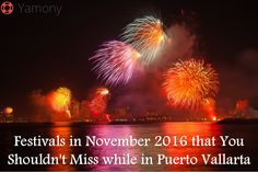 Festivals in November 2016 that You Shouldn't Miss while in Puerto Vallarta