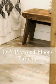 DIY Plywood Plank Flooring & 169 best Flooring Solutions images on Pinterest in 2018 | Home decor ...