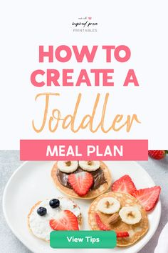 Toddlers are pretty active and seem to burn off the calories they consume with little effort. Here are some tips on how to create a toddler meal plan to help with picky eaters and encourage healthy eating habits.  #toddlermealideas #toddlermealplan #toddlereatingschedule   #toddlermeals2yearold #pickyeatertoddler #inspiredprose   #inspiredproseprintables Toddler Routine Chart, Toddler Schedule, Toddler Meals, Toddler Activities, Printable Chore Chart, Chore Chart Kids, Chore Charts, Printables, Eating Schedule