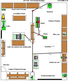Woodworking Shop Layout Design In case you are looking for excellent tips regarding wood working, then http://www.woodesigner.net can certainly help!
