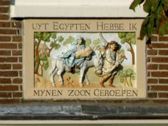 Begijnhof 19, Amsterdam - terugkeer uit egypte