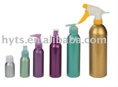 Sprayer Pump Aluminum Bottle