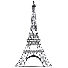 Black Metal Eiffel Tower Wall Decor with Gemstones--- love this for my daughter's paris themed dorm room