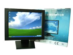 """15 inch Industrial LCD Portable TouchMonitor, 15"""" LCD Touch Screen Desktop Touch Monitor, Monitor Touch for Pos Terminal"""