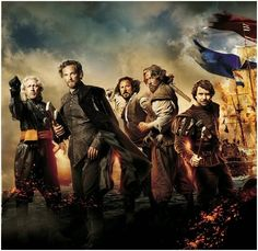 Hollywood Spy: international day: trailers for 'Admiral' lavish 17th century Dutch epic with Charles Dance, Rutger Hauer.