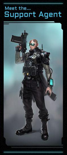 Satellite Reign- Agent Support