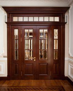 Best 35 Home Decor Ideas - Lovb Home Door Design, Pooja Room Door Design, Door Design Interior, Wooden Front Door Design, Double Door Design, Frosted Glass Interior Doors, Porte Design, Bungalow House Design, Oak Doors
