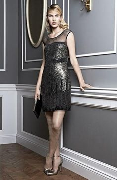 Stunning 20's inspired holiday dress