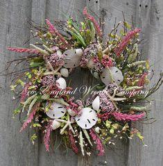 Cape Cod Summer Cottage Wreath by NewEnglandWreath