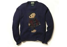 RALPH LAUREN TO RE-ISSUE POLO BEAR SWEATERS