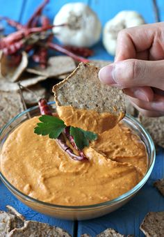 Spicy Chipotle White Bean Dip whirlpool good, only used one chile