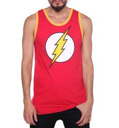 Tank Top Logo #Flash #Kingmonster #DcComics $ 190.00