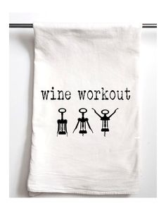 You need to see this Set of Two Wine Workout Tea Towels on Rue La La.  Get in and shop (quickly!): https://www.ruelala.com/boutique/product/101860/31896552?inv=jmpt8p&aid=6191