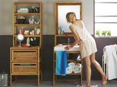 Miroir bois alinea