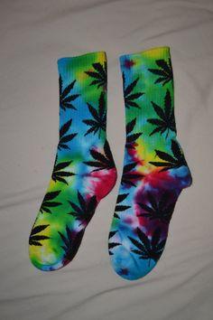 Custom Tie Dye HUF Socks