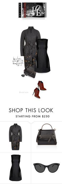 """Get the Look ~ Cool Coat"" by blonde-bedu ❤ liked on Polyvore featuring ESCADA, Diane Von Furstenberg, Alberta Ferretti, Illesteva and Pollini"