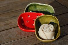 Mýdlenka keramická miska (Barvy lesa)