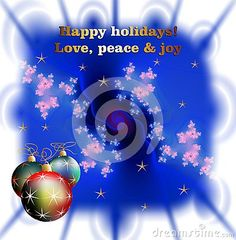 Christmas wishes, stars and sparkling lights on blue background