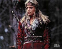 """Queen Cyane of Northern Siberia of Amazons. She was in Xena:Warrior Princess- """"Adventure in sin"""" part one and two."""