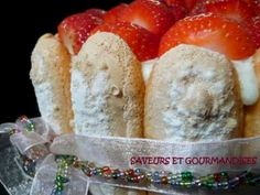 Recette Dessert : Charlotte aux fraises par Nadjibella