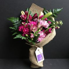 Fragrant Stock, Lilies, Alstroemeria, Chrysanthemums, Carnations and Daisies. Only $25 delivered today anywhere in Manhattan*. #flowers #florist #Manhattan #newyork #stock #lily #alstroemeria #chrysanthemum #carnation #daisy