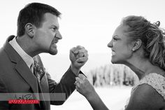 Let's get ready to RUMMMMMMMBBLLLLLE ... in a loving way as we go through a sneak peak of Kelsey and Rich's Silver Mountain wedding images.