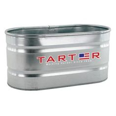 This 100 gallon galvanized stock tank will provide plenty of fresh water for your animals. The tank is elongated with round ends and measures 4 ft. x 2 ft. x 2 ft. The stock tank is easy to drain and clean and has a 1 inch drain plug.